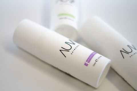 A set of 2 x  AUVA 24H cream, 2 x AUVA Yooth Booster and 2 x AUVA Cleansing Milk
