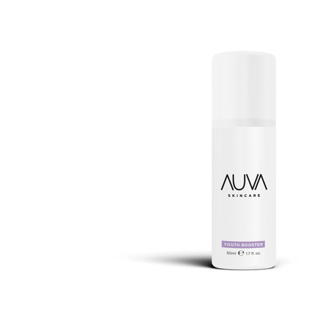 AUVA Youth Booster Cream with Hyaluronic Acid, Yeast Extract, Phytoceramides and Bioflavonoids
