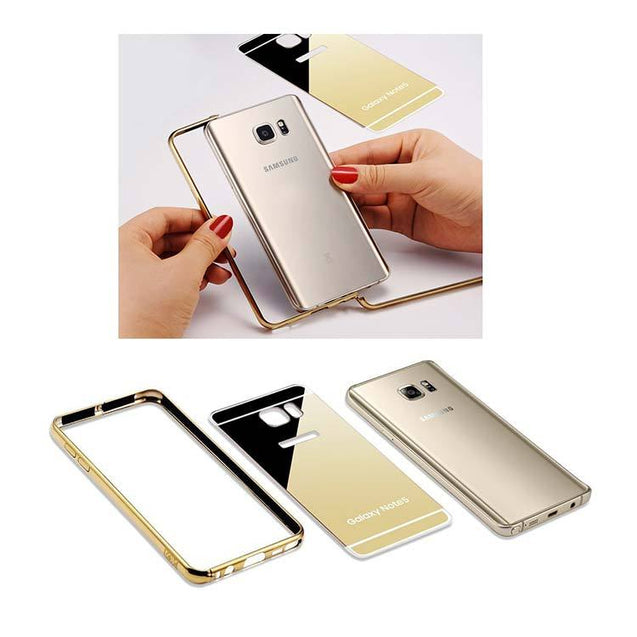 Samsung Galaxy Note 5 Back Cover Mirror Back Case Metallic