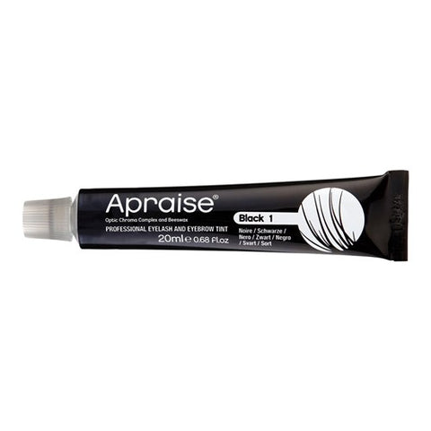 Apraise Lash & Brow Tint- 1 Black 20ml