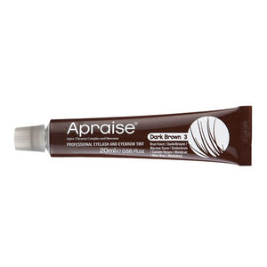 Apraise Lash & Brow Tint- 3 Dark Brown 20ml