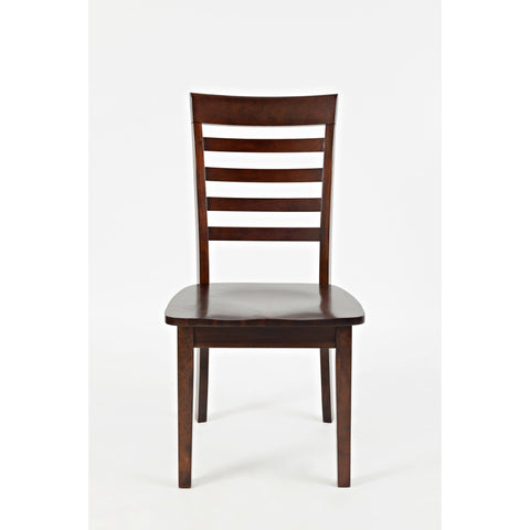 Everyday Classics Ladder Back Dining Chair- Cherry Set of 2