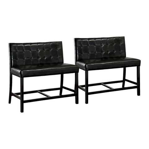 Contemporary Counter height chair,Set Of 2