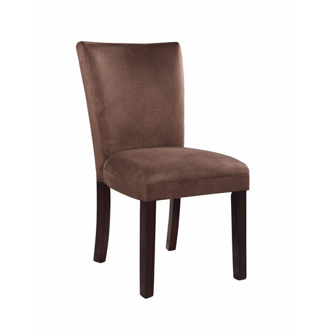 Elegantly Charmed Dining Chair, brown, Set of 2