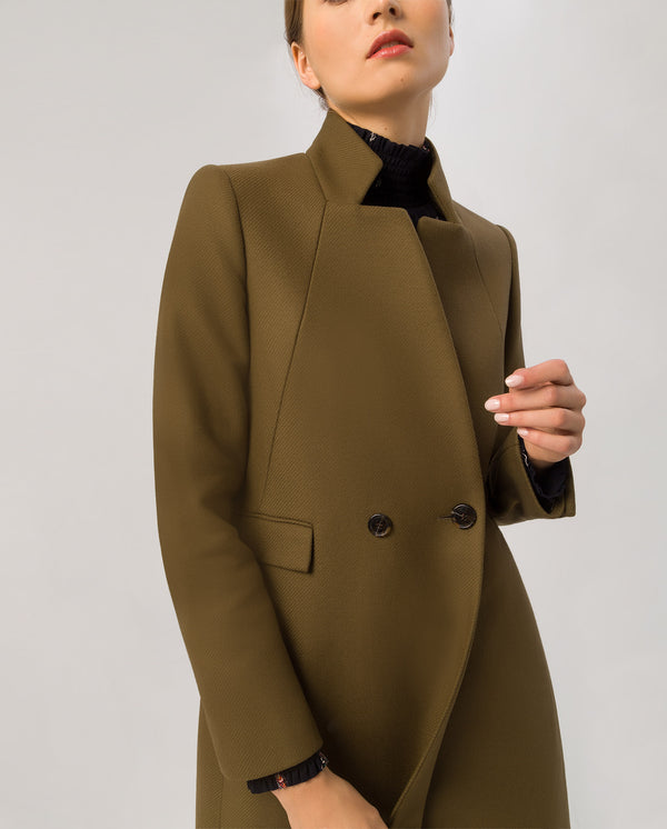 Blazer Coat Military Green