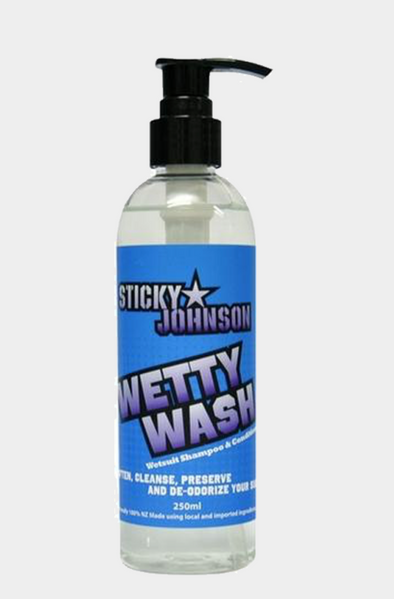 Sticky Johnson Wetty Wash 250ml Bottle