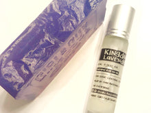 Load image into Gallery viewer, Kingdom Lavender Soap Bar & Body Oil Roll-On Set