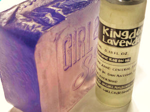 Kingdom Lavender Soap Bar & Body Oil Roll-On Set
