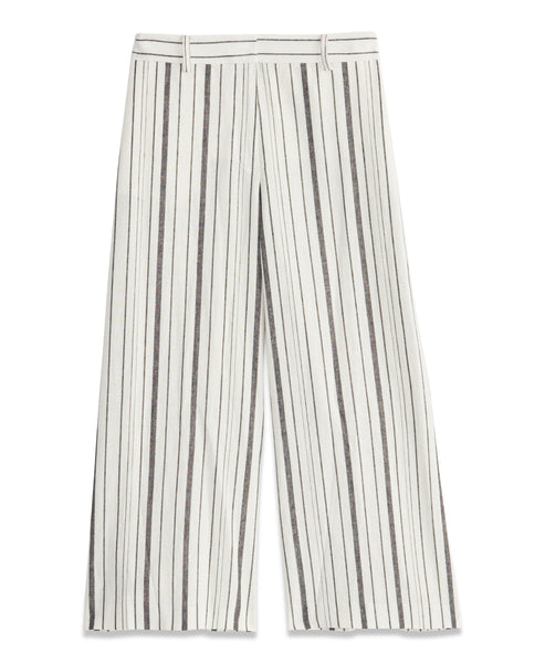 STRIPED CROP PANT