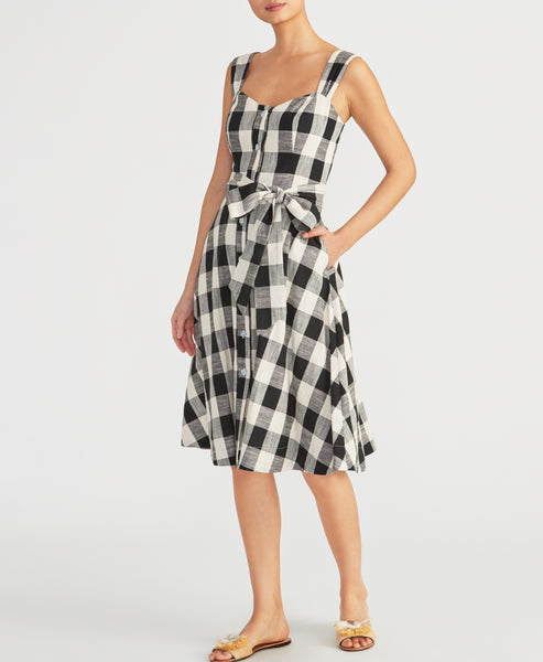 GINGHAM SUNDRESS