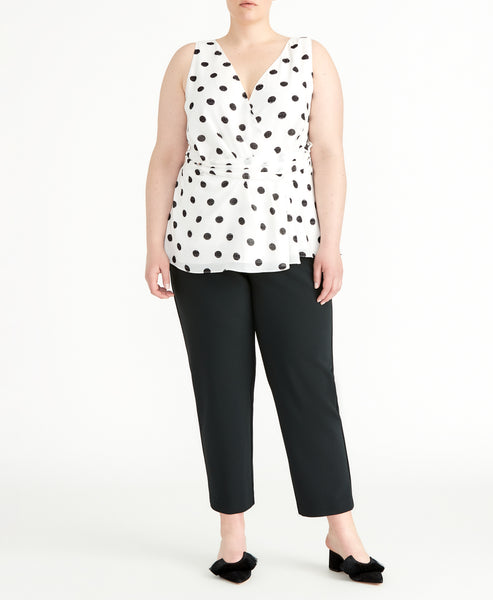 POLKA DOT TWIST TANK