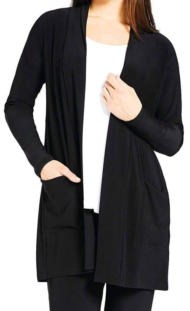 Sympli Womens Plus Size Go to Cardigan Long