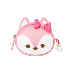 Pink Fox Coin Purse