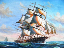 Load image into Gallery viewer, Sailing Ship DIY Diamond Painting
