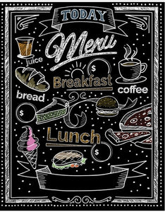 Food Menus Diamond Art Kits