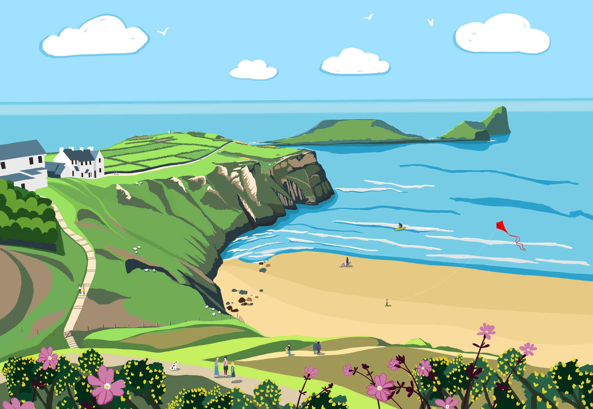 Worms Head Giclee Print
