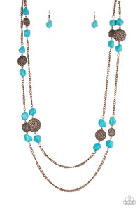 papparazi- long necklace Mountain Movement - Copper