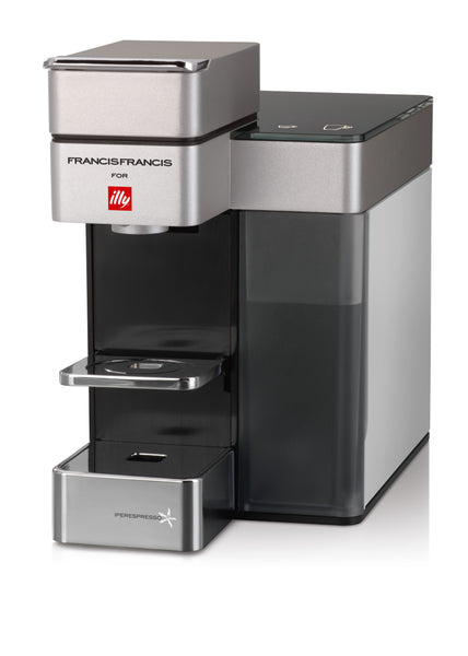 Francis Francis Y5 Duo Espresso & Coffee Machine In White Base