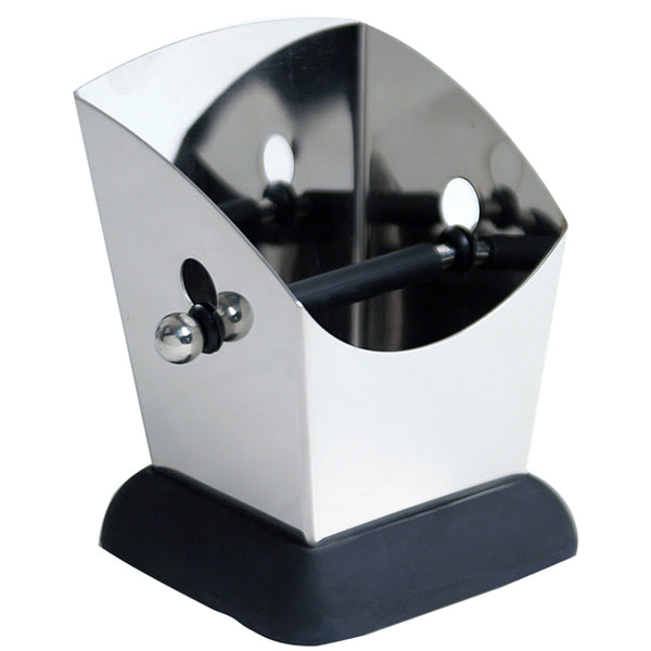 Modern Stainless Steel Knock Box Base