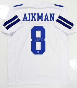 Troy Aikman Signed / Autographed White Pro Style Jersey- JSA Authenticated