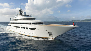 M/Y QUATTROELLE - SLEEK SHEIKH STYLE ON THE SEAS