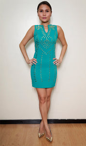 Kamala Studded Dress
