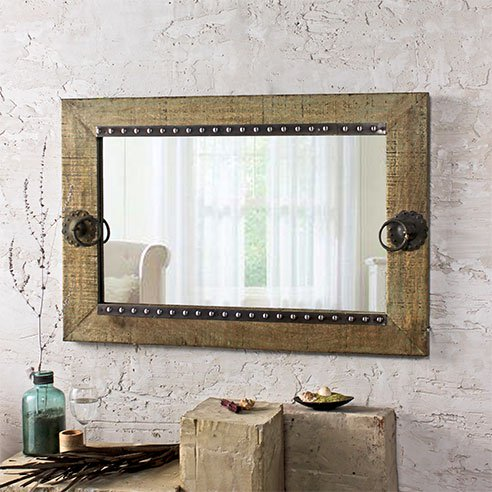 Buy Olivian Green Mirror online