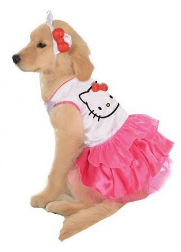 Rubies Pet Shop Hello Kitty Dress Pet Costume