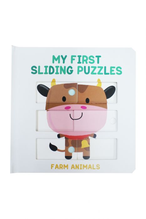 My First Sliding Puzzles Farm Animals