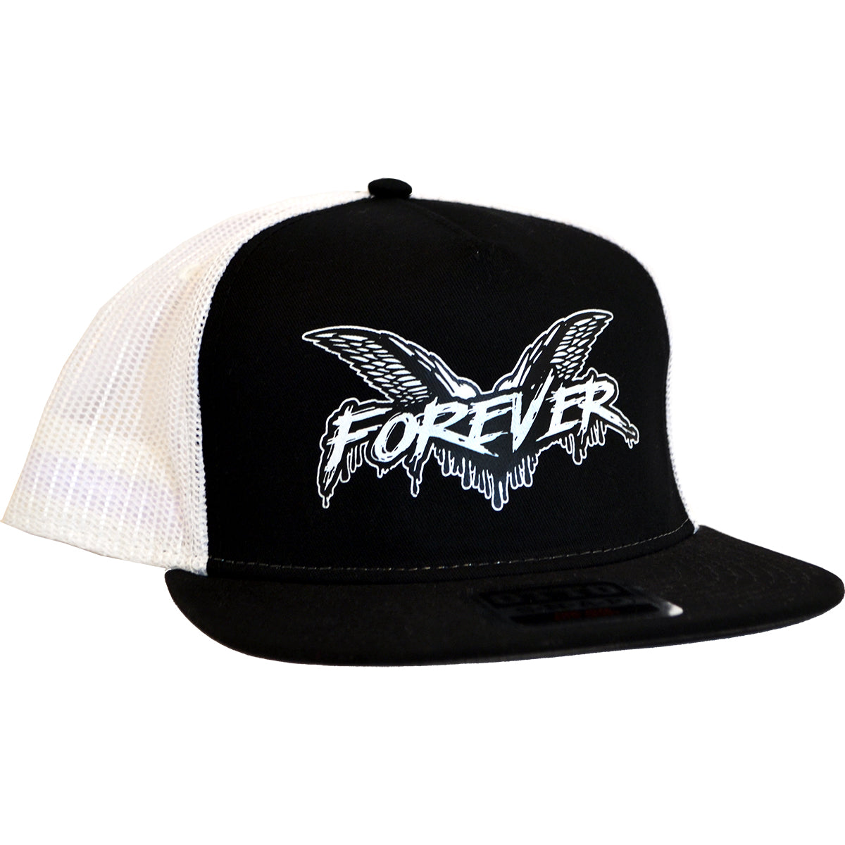 Cock Sparrer - Forever - Black w/ White Mesh - Otto Snapback Hat