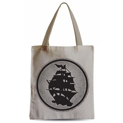 Pirates Press - Circle Logo - Tote Bag
