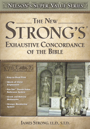 New Strong's Exhaustive Concordance (Value Series) S/S
