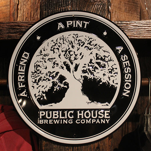 Public House Brewing Company Metal Wall Tacker