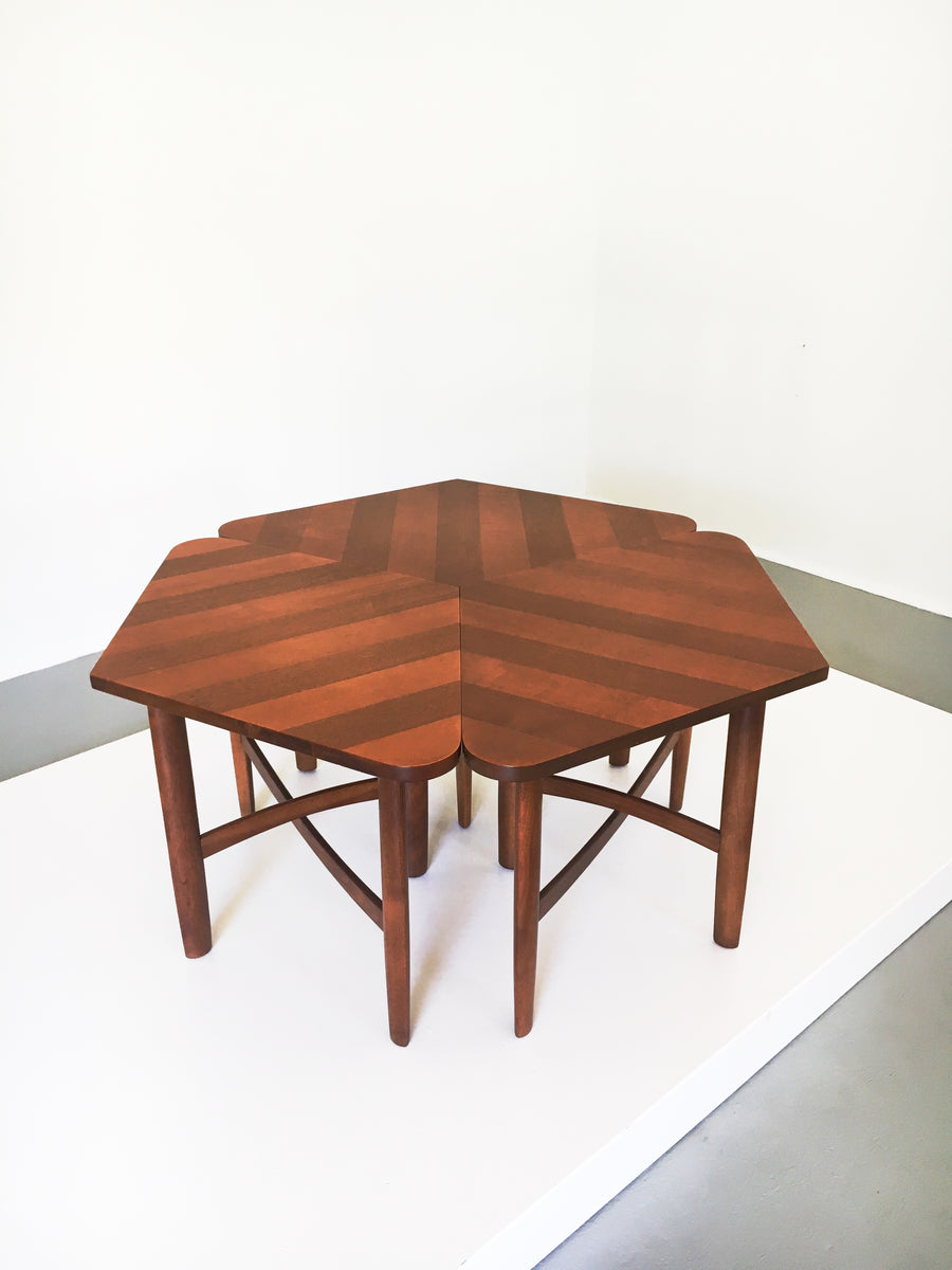 Barney Flagg for Drexel Set of Three Occasional Tables, circa 1960's