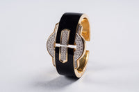 David Webb Cuff Bracelet, 1970s - The Exchange Int