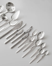 "Tapio Wirkkala, Rare Sterling Flatware Service ""Marski"" 114 Pieces, 1962 - The Exchange Int"
