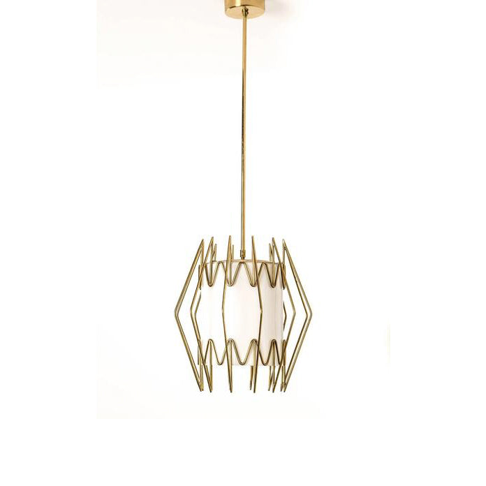 [SOLD] Paavo Tynell Ceiling Lamp Made for the Borough Hall at Mikkeli Parish, circa 1940's