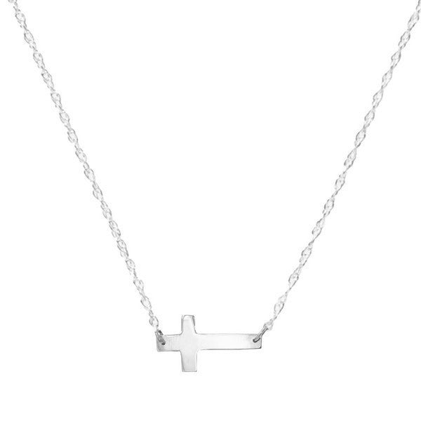 I found this at #moonandlola - Sterling Silver Cross Necklace