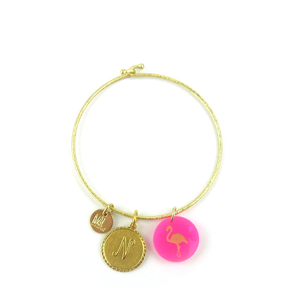 Moon and Lola - Nora Bangle with Dalton and Eden Charms