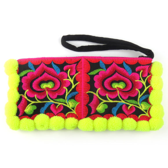 Moon and Lola - Pom Pom Punch Clutch