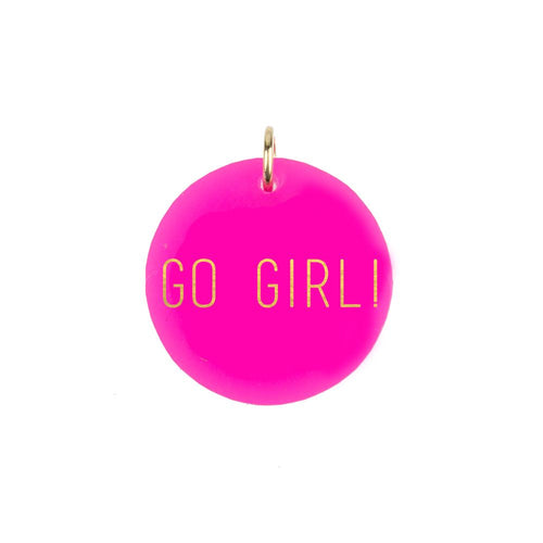 Moon and Lola - GO GIRL! Charm