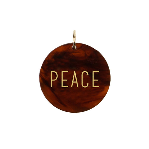 I found this at #moonandlola! - Peace Charm