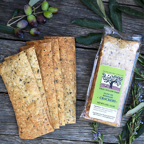 Olive Oil Rosemary Crackers│Shop │Baked