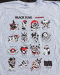 Black Flag Tattoo Shirt