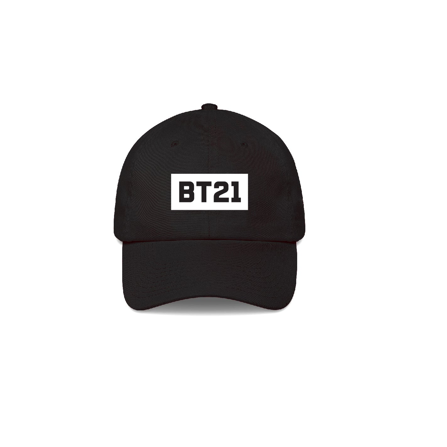 BT21 Logo Black Cap