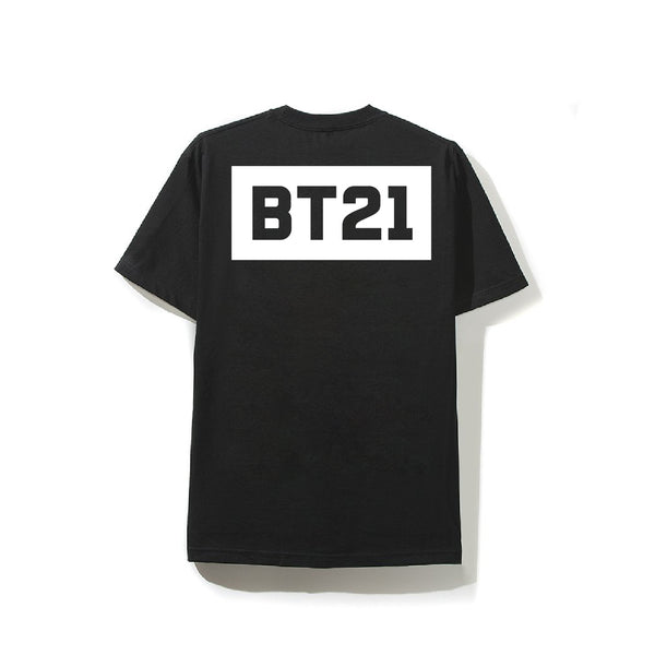BT21 Black Logo Tee