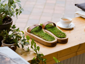 The Authentic Grass Slippers