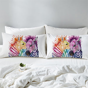 Zebra Pillowcase 2pcs - 2 Styles - My Diva Baby