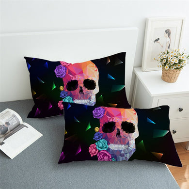 Crystal Skull Pillowcase 2pcs