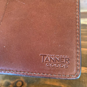 Deadstock Tanner Goods Leather Travel Wallet